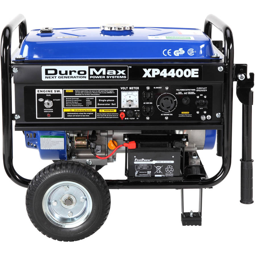 DuroMax 4400/3500W  Electric Start Portable Generator