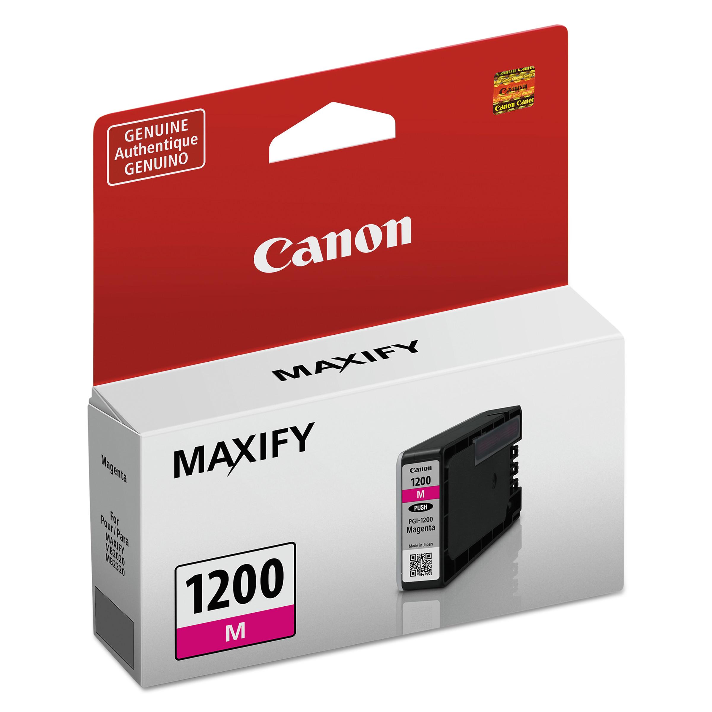 Canon 9233B001 (PGI-1200) Ink, Magenta