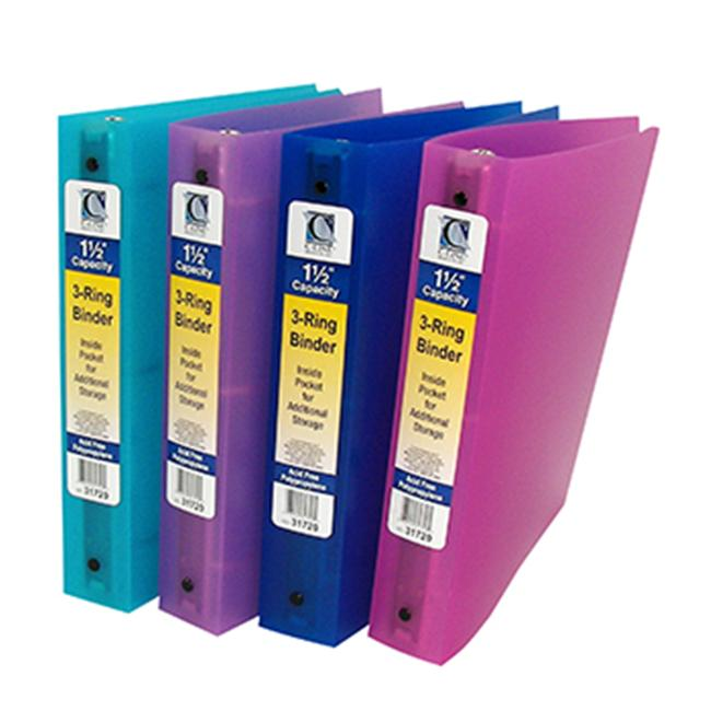 C-Line Products Inc CLI31720 C Line 3 Ring Binder 1.5In Capacity