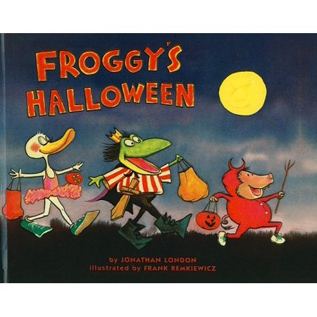 Jonathan Larson Halloween (Froggy's Halloween)