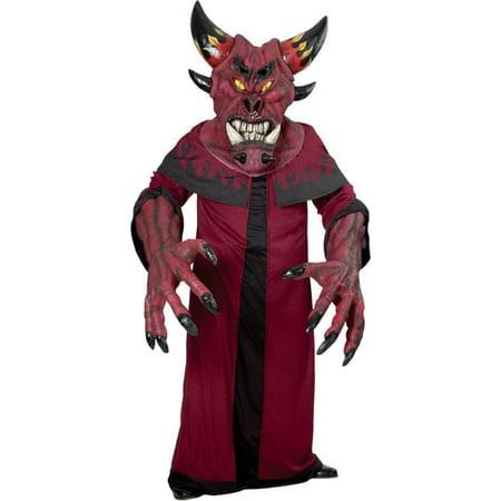 Dark Diablo Creature Reacher Costume Adult Standard - Diablo Halloween