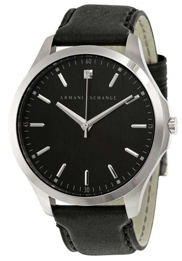 Armani Exchange Leather Mens Watch AX2182