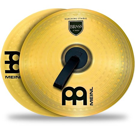 Meinl Brass Marching Cymbal Pair 18 - Marching Cymbal