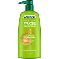 Garnier Fructis Sleek & Shine Conditioner, Frizzy, Dry, Unmanageable Hair, 33.8 fl. oz.