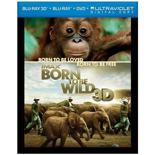 IMAX: Born To Be Wild (3D Blu-ray + Blu-ray + DVD) (With INSTAWATCH) by TIME WARNER