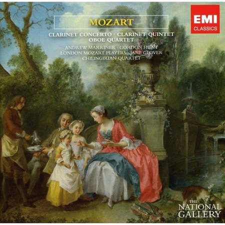 - MOZART: CLARINET CONCERTO & QUINTET; OBOE QUARTET (THE NATIONAL GALLERY COLLECTION)