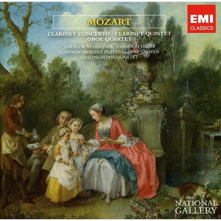 Mozart Oboe Quartet (MOZART: CLARINET CONCERTO & QUINTET; OBOE QUARTET (THE NATIONAL GALLERY COLLECTION))