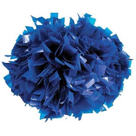Pizzazz Royal Blue Plastic Cheer Single Pom Pom - Pom Poms Cheer