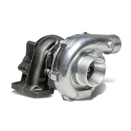 Polished Manifold - T04E T3/T4 4-Bolt Manifold Flange Stage III Polished Turbocharger Turbine A/R .63