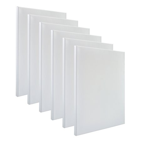 Art Advantage 12x16 Prestretched Bulk Canvas 6 pack