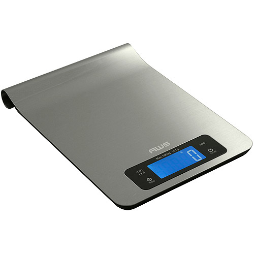 American Weigh Scales Epsilon 11-lb. Digital Kitchen Food Scale by American Weigh Scales Inc.