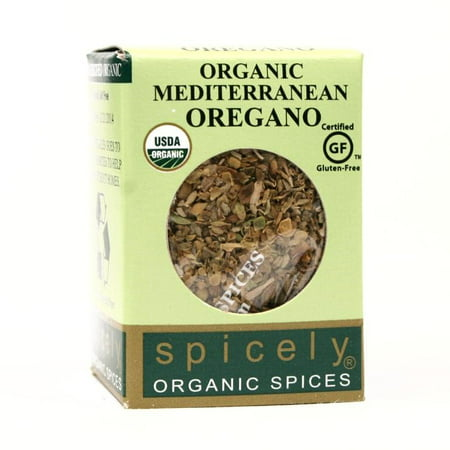 Spicely Organic Spices - (2 Pack) Spicely Organics Whole Mediterranean Oregano, .15 Ounces