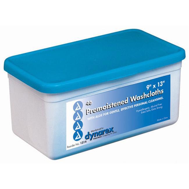 Washcloths - Premoistened And Disposable Tub / 46 - 3039