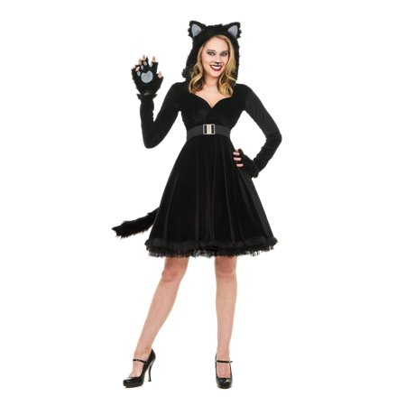 Women's Black Cat Costume (Can Costumes)