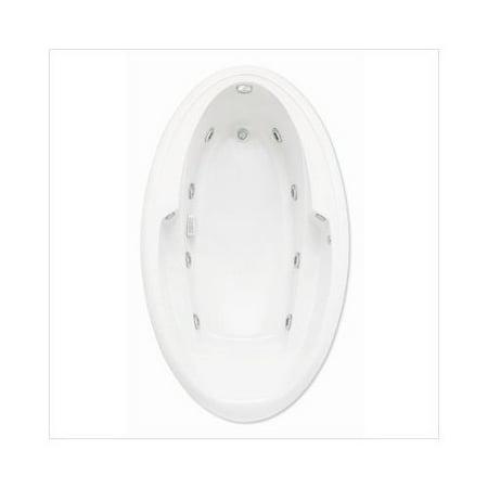 Lasco Bathware Ariel Ii 66 Whirlpool Bath Tub In White Walmart Com