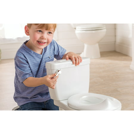 Summer My Size Potty with Flushing Sounds and Wipe Dispenser, White