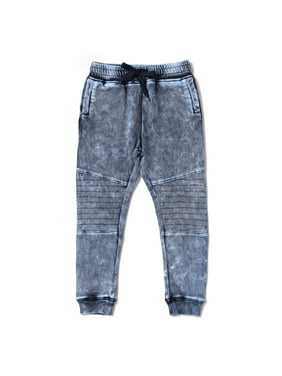 41d99e52cc354 Product Image Kapital K Baby Toddler Boy Knit Biker Jogger Pants