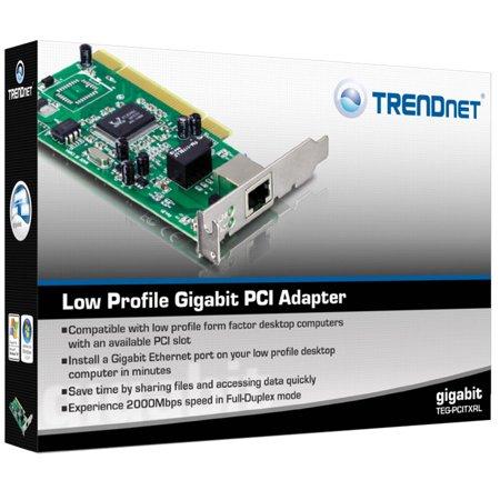 TRENDnet TEG-PCITXRL - network adapter