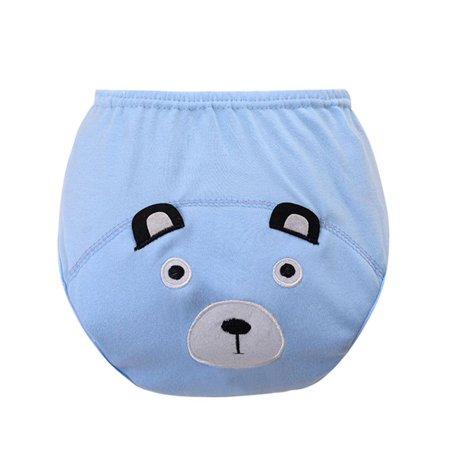 Baby Infant Cotton Reusable Cloth Washable Nappy Training Pants
