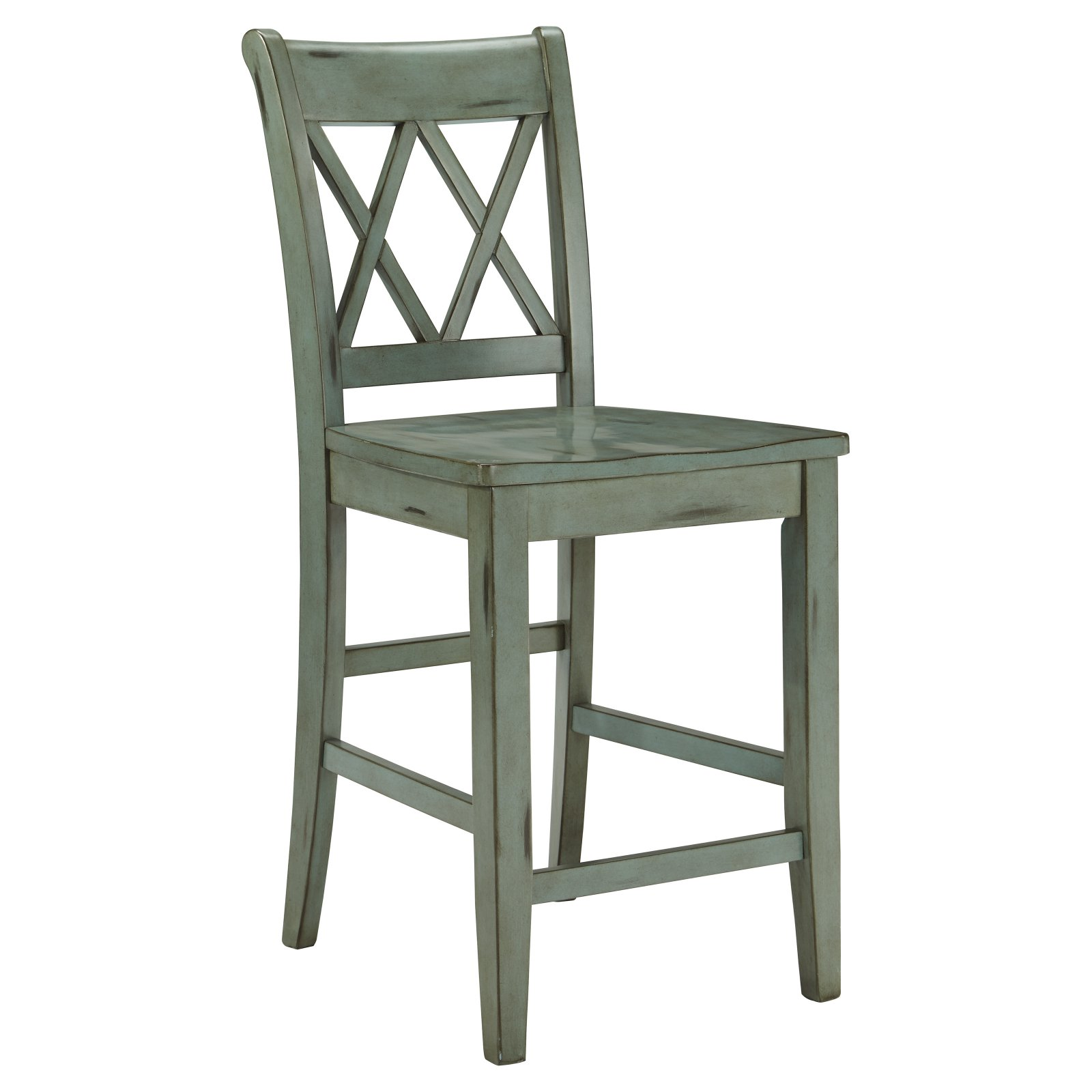 Signature Design by Ashley Mestler 24 in. Counter Stool - Set of 2