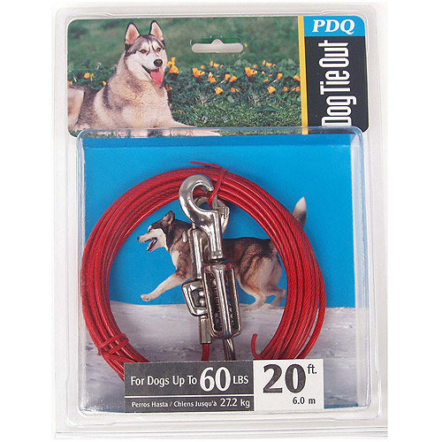 Boss Pet Q3520 SPG 99 20' Large Dog Cable Tie-Out
