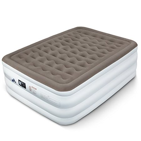 Etekcity Upgraded Air Mattress Blow Up Elevated Raised Bed Inflatable Airbed with Built-in Electric Pump, Height 22'', Queen Size - Blow Up Tub