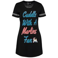 Miami Marlins Concepts Sport Women's Tradition Nightshirt - Black
