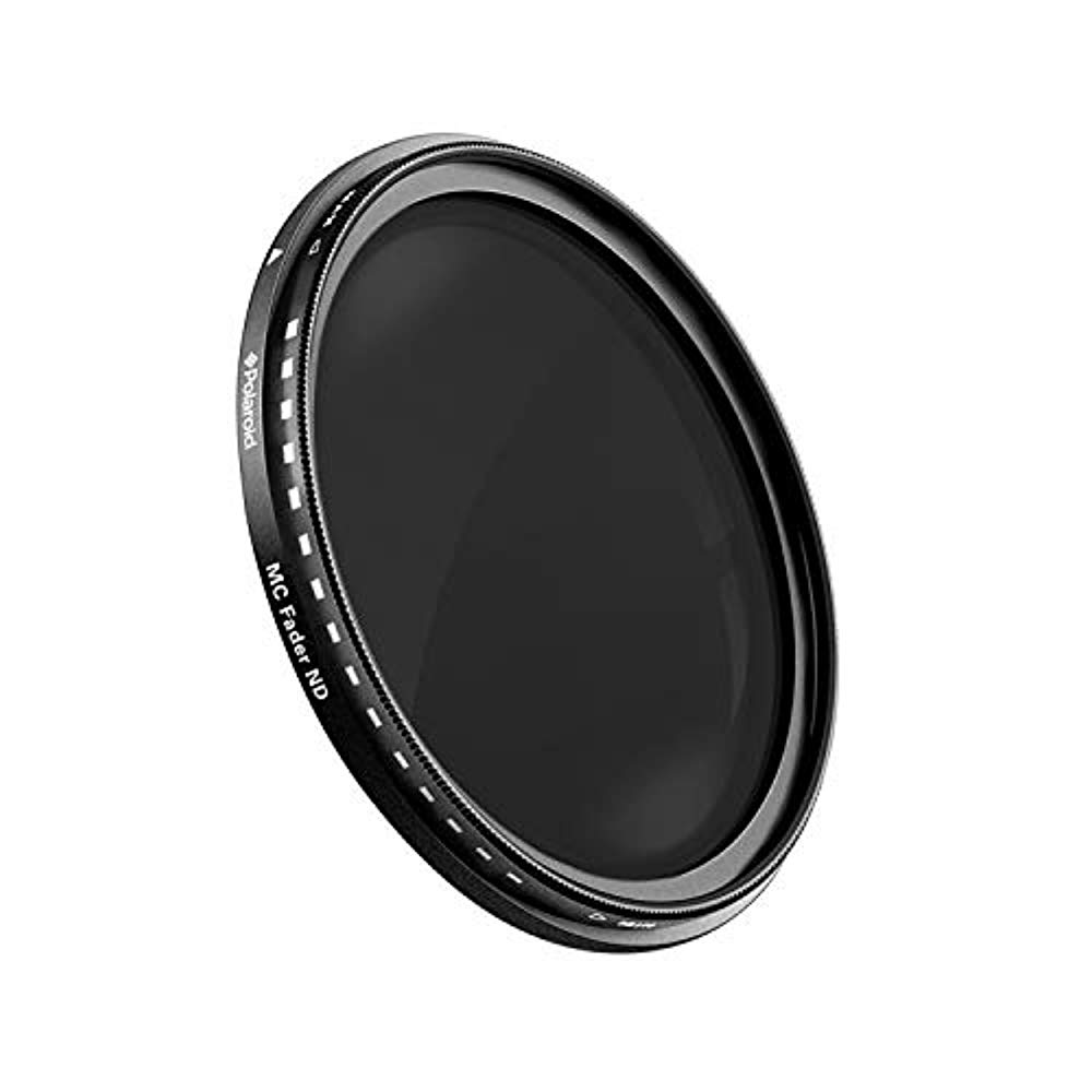 Polaroid Optics 55mm Neutral Density ND9 and Bonus Filter Case Pro-Grade 3-Piece Photography Filter Set ND3 ND6 ND