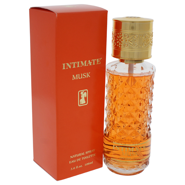 Intimate Musk by Jean Philippe for Women - 3.6 oz EDT Spray