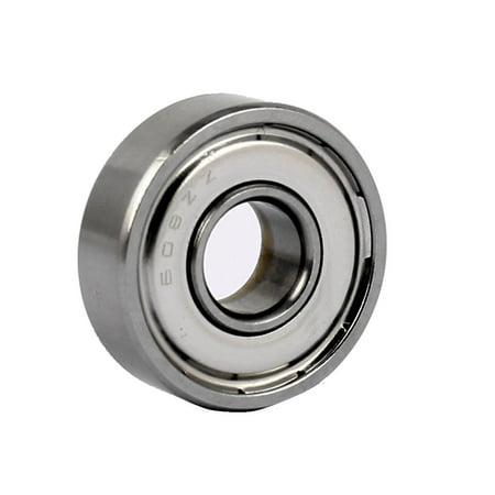 ZZ608 Shielded Deep Groove Flange Ball Bearing 22mm OD 8mm Bore - Flanged Shielded Bearing