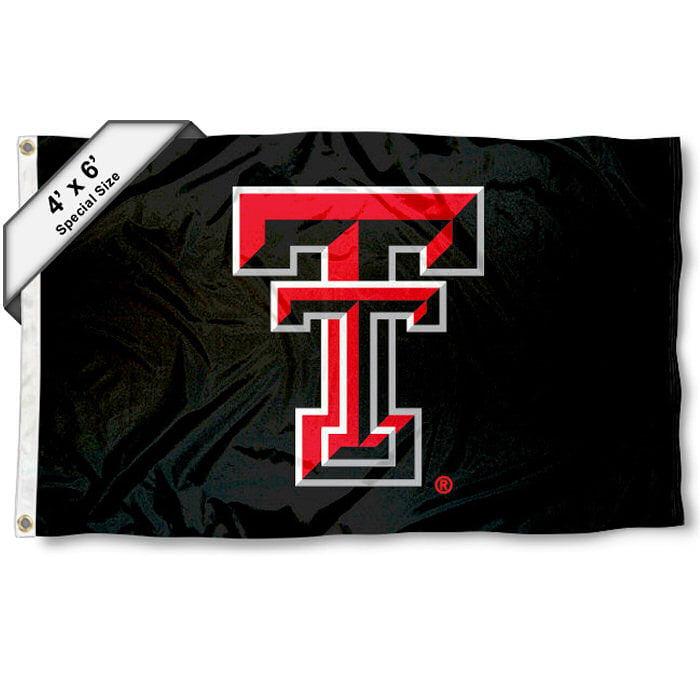Texas Tech Red Raiders 4' x 6' NCAA Flag