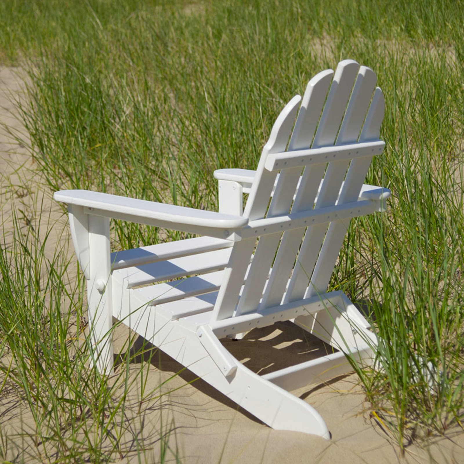 POLYWOOD® Classic Recycled Plastic Foldable Adirondack Chair