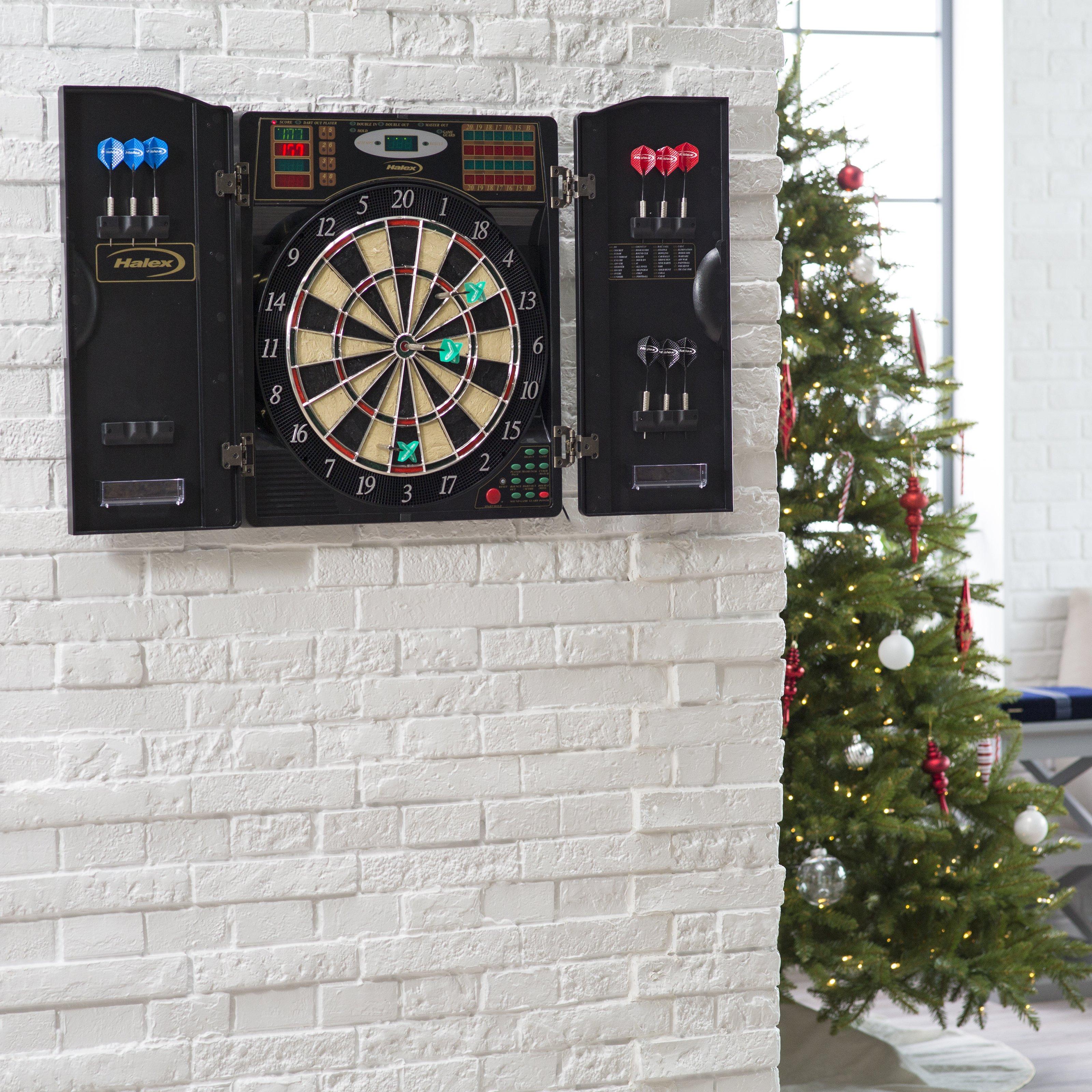 Halex Madison Bristletech Electronic Dart Board Complete
