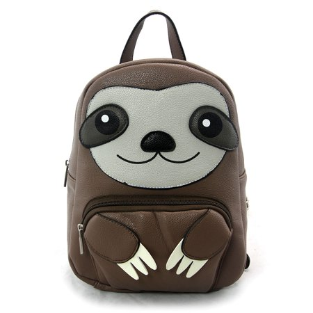 Sleepyville Critters Three Toed Sloth Small Backpack (Bag Critter)