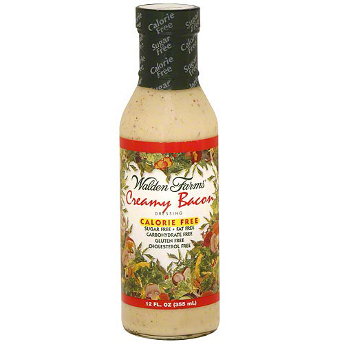 Walden Farms Creamy Bacon Dressing, 12 oz (Pack of 6)