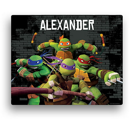 Personalized Teenage Mutant Ninja Turtles 11' x 14' Canvas Wall Art - Ninja Turtle Painting