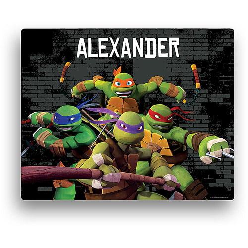 Personalized Teenage Mutant Ninja Turtles 11' x 14' Canvas Wall Art