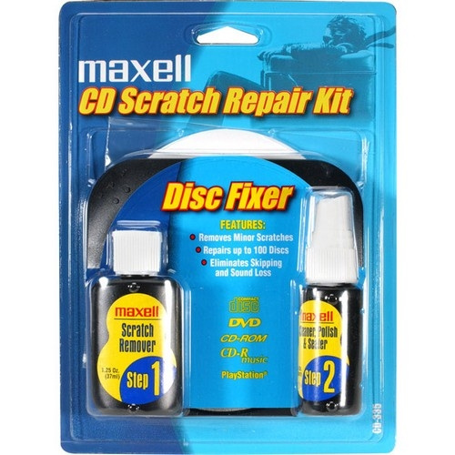 Maxell 190041 CD/CD-ROM Scratch and Repair Kit