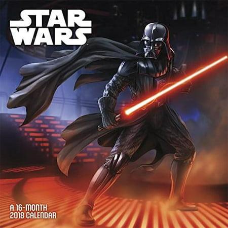 Star Wars Saga Wall Calendar 2018 (Star Wars Day At A Time Calendar 2016)
