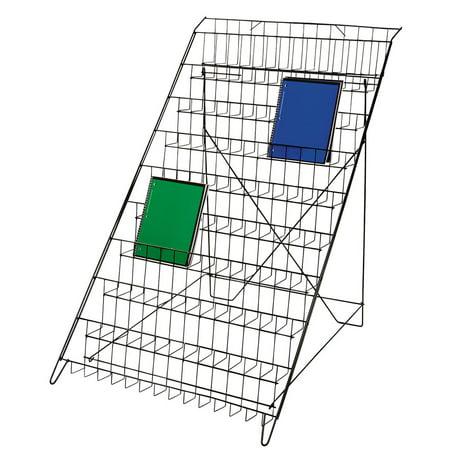 - Black Floor Standing Wire Rack (Book and Magazine Rack)