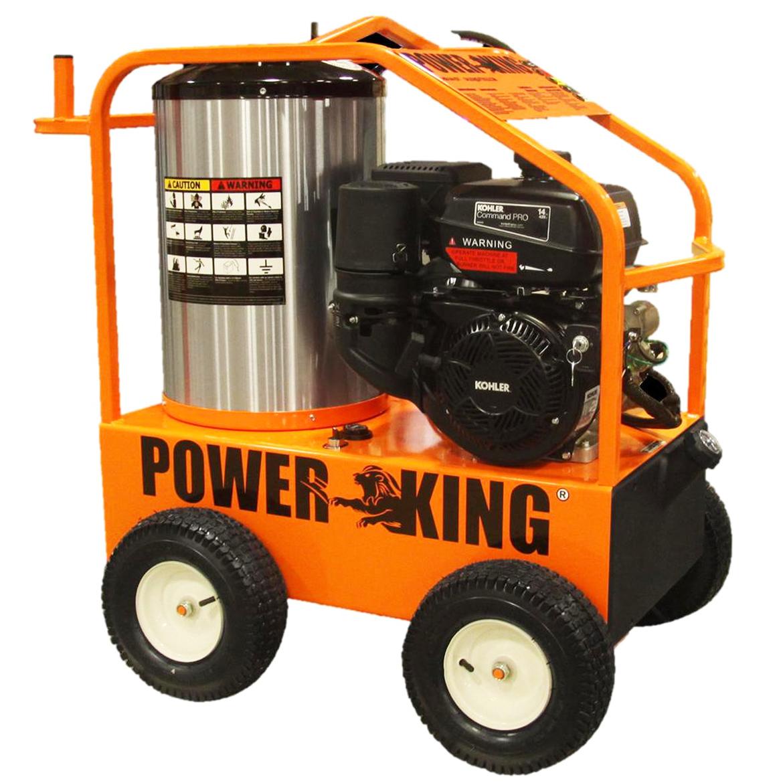 Power King PK0703 14 HP 12 Gauge 4000 PSI Steel Gas Power...