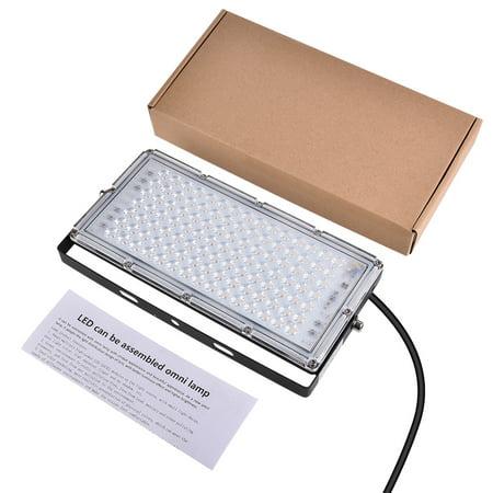 Vinyl Workshop Outdoor Garden - 100W LED Flood Light Warm White Super Bright Garden Workshop Outdoor Fixture