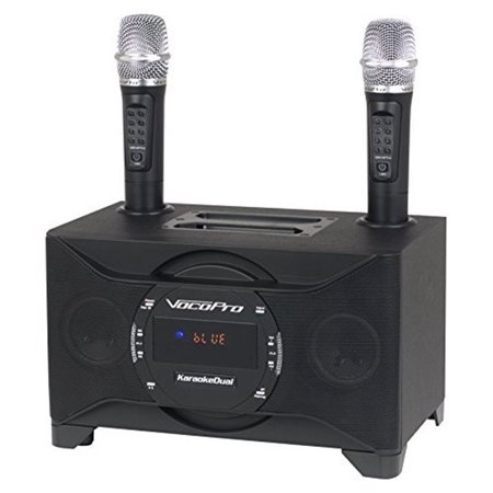 vocopro portable karaoke dual sound system. Black Bedroom Furniture Sets. Home Design Ideas