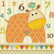 Dimensions Counted Cross-Stitch Kit, Baby Hippo 123