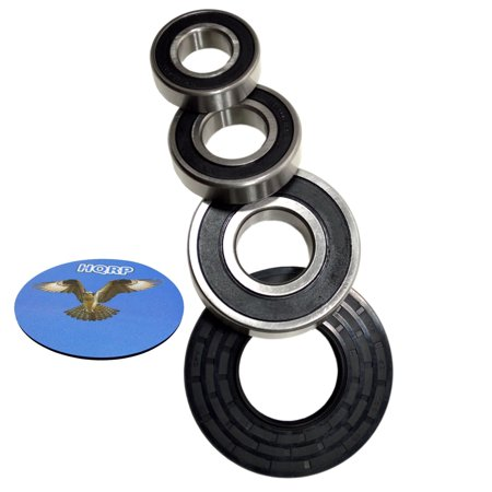 HQRP Bearing and Seal Kit for GE WCVH6800J0WW WCVH6800J1BB WCVH6800J1MB WCVH6800J1MR WCVH6800J1MS WCVH6800J1MV Front Load Washer Tub + HQRP