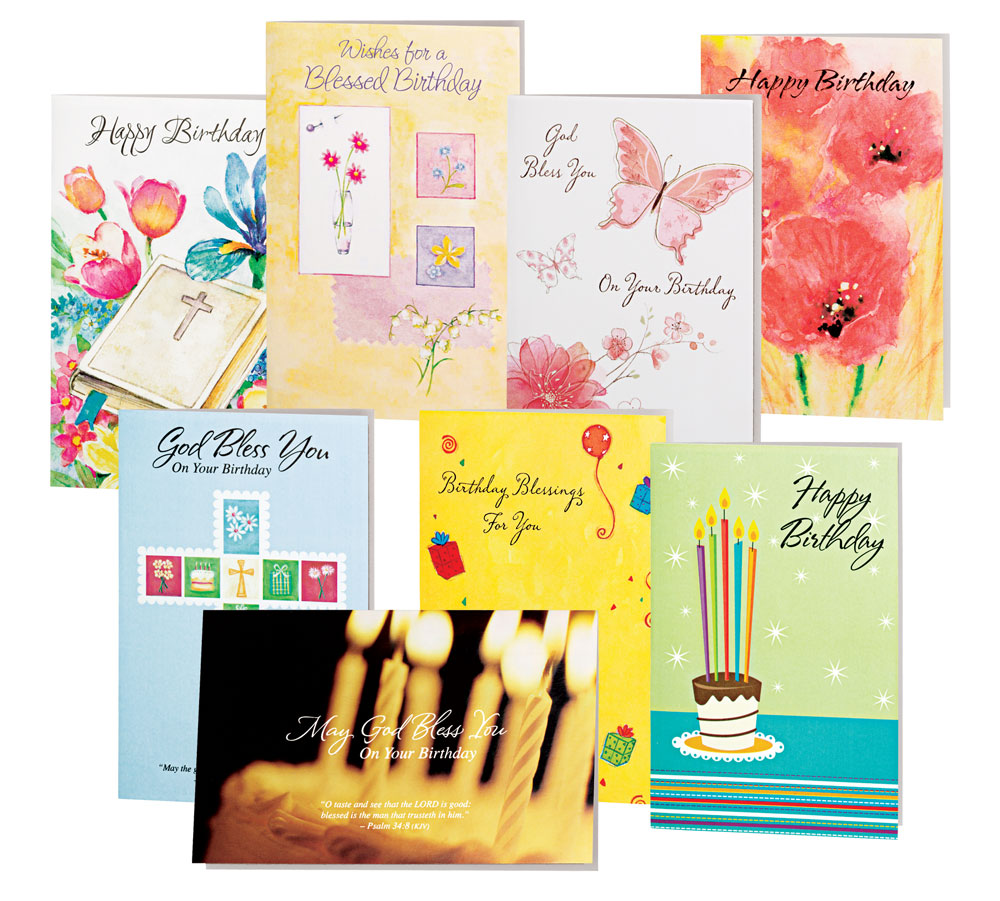EasyComforts Birthday Cards Value Pack Of 24