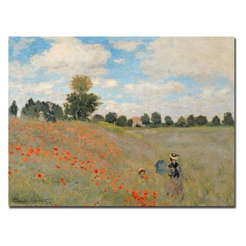 Claude Monet Wild Poppies Near Argenteuil
