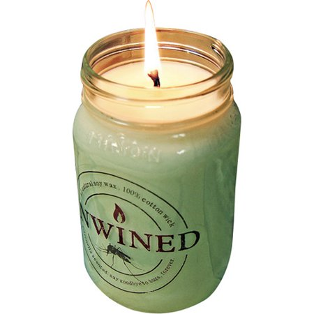 Unwined Candles Citronella Jar Candle