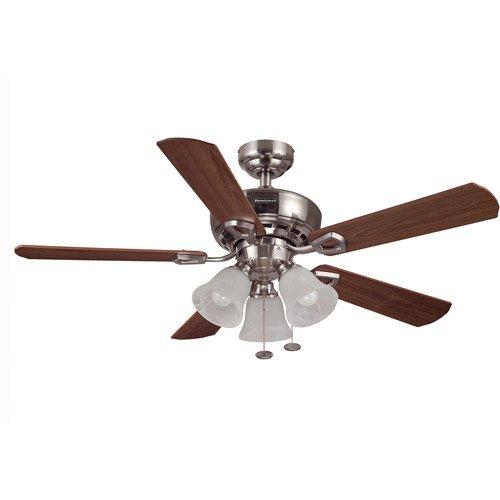 Honeywell Ceiling Fan Wiring Diagram : Quot honeywell valiant ceiling fan brushed nickel