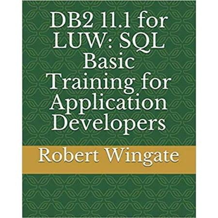 DB2 11.1 for LUW: SQL Basic Training for Application Developers - (Sql Developer The Network Adapter Could Not Establish)